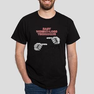 Easy Weight Loss Funny Diet T-Shirt Dark T-Shirt