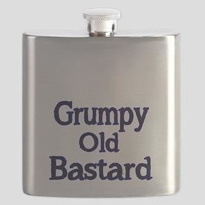 Grumpy old Bastard Flask