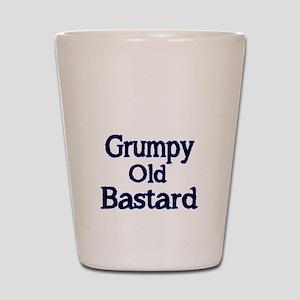 Grumpy old Bastard Shot Glass