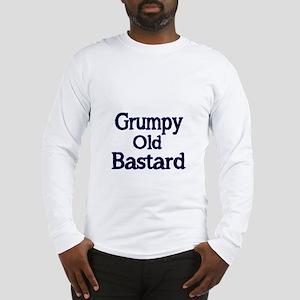 Grumpy old Bastard Long Sleeve T-Shirt