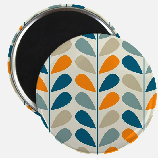 Retro Pattern Magnet
