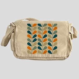 Retro Pattern Messenger Bag