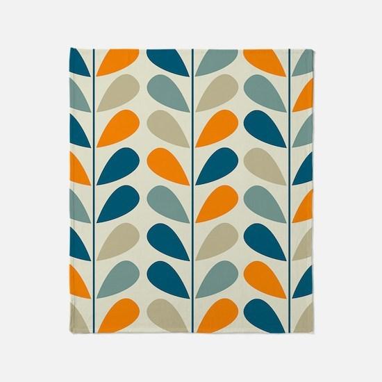 Retro Pattern Throw Blanket