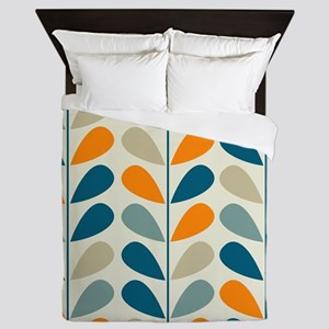 Retro Pattern Queen Duvet