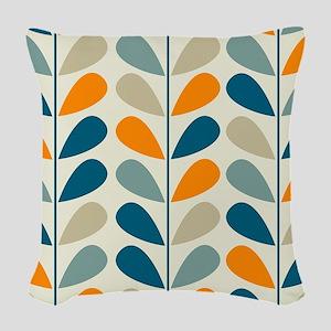 Retro Pattern Woven Throw Pillow