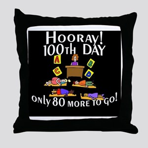 Only 80 more days to go BL Throw Pillow
