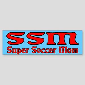 Super Soccer Mom Bumper Sticker