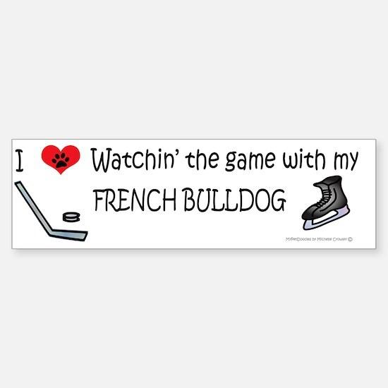 french bulldog Sticker (Bumper)