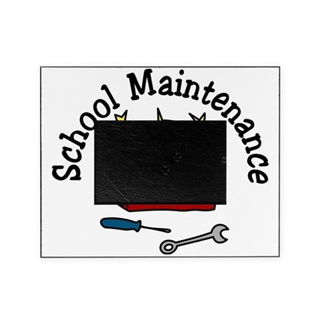 School Maintenance Picture Frame