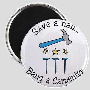 Save A Nail Magnet