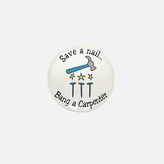 Save A Nail Mini Button
