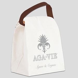 AGA•VIE Logo Canvas Lunch Bag
