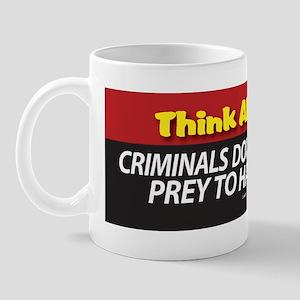 A. Think About It Bumper Sticker Mug
