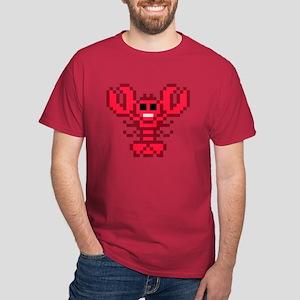 8 bit lobster red Dark T-Shirt