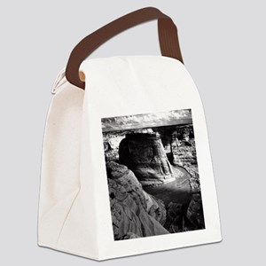 Ansel Adams Arizona Canyon Canvas Lunch Bag