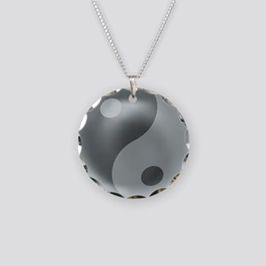 TheAcupuncturistslogo Necklace Circle Charm