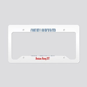 Texas will survive License Plate Holder