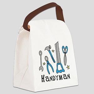 Handyman Canvas Lunch Bag