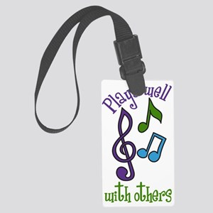 Plays Well Large Luggage Tag