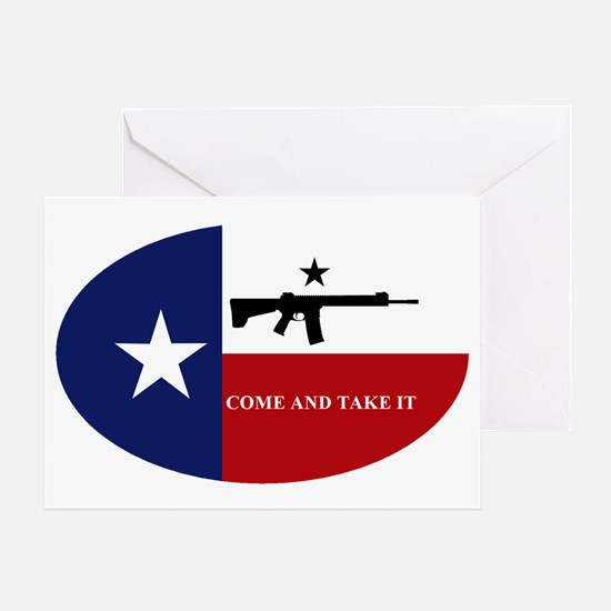 Come And Take It! Greeting Card