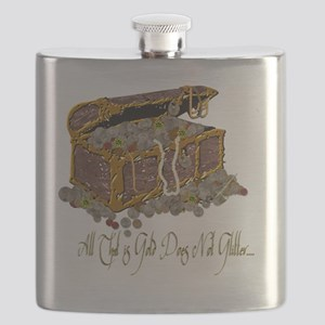 Treasure Chest All That Is Gold Flask