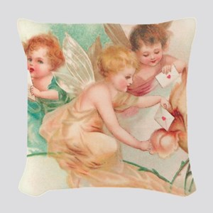 ca_shower_curtain2 Woven Throw Pillow