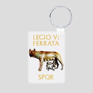 Roman legions Aluminum Photo Keychain
