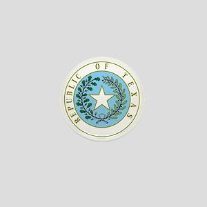 Great Seal of Texas 1839-1845 Mini Button