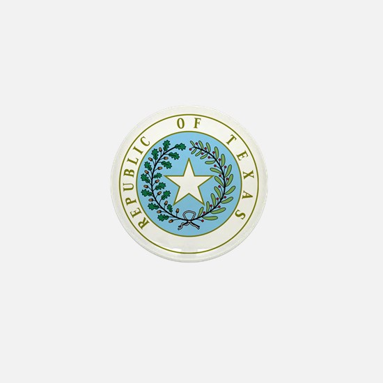 Great Seal of Texas 1839-1845 Mini Button