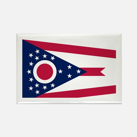 Flag of Ohio Rectangle Magnet