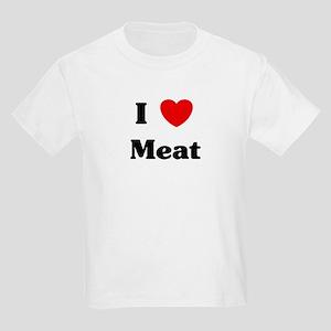 I love Meat Kids Light T-Shirt