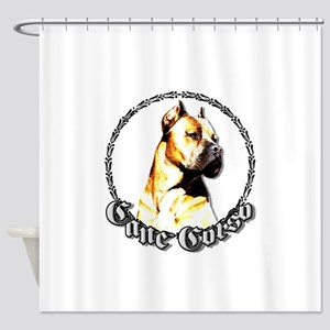 canecorso1 Shower Curtain