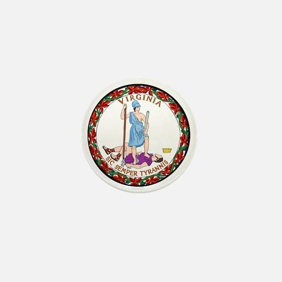 Great Seal of Virginia Mini Button