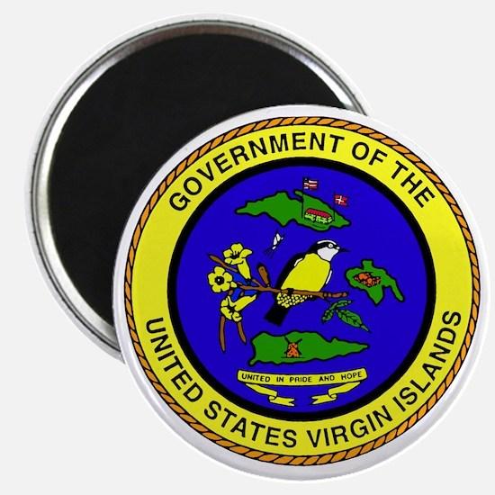 Seal of US Virgin Islands Magnet