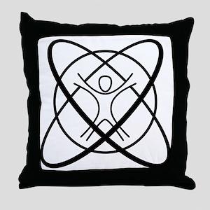 Svindelic Logo Throw Pillow