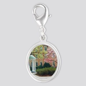 The Old Well Silver Oval Charm