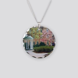 The Old Well Necklace Circle Charm
