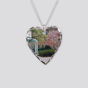 The Old Well Necklace Heart Charm