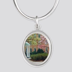 The Old Well Silver Oval Necklace