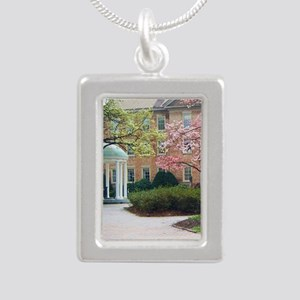 The Old Well Silver Portrait Necklace