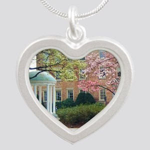 The Old Well Silver Heart Necklace