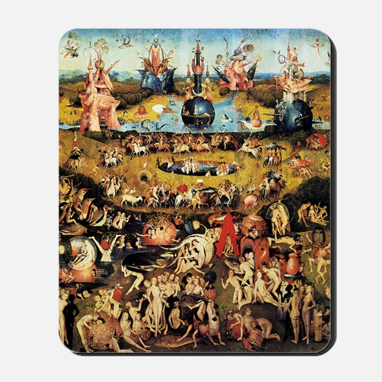 Hieronymus Bosch Garden Of Earthly Delig Mousepad