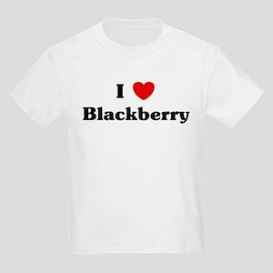 I love Blackberry Kids Light T-Shirt