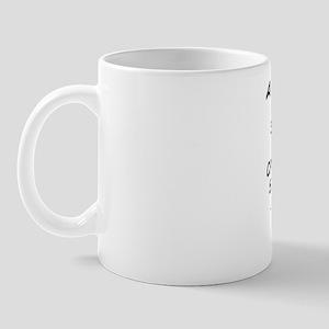 A lady walked down the aisle at the sto Mug