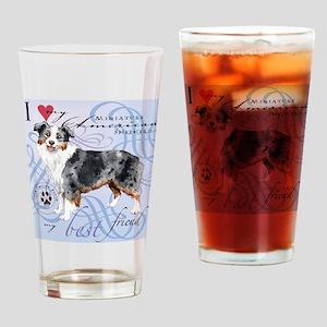 mini amer-tile Drinking Glass