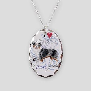 mini amer-slider2 Necklace Oval Charm
