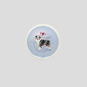 mini amer-round Mini Button