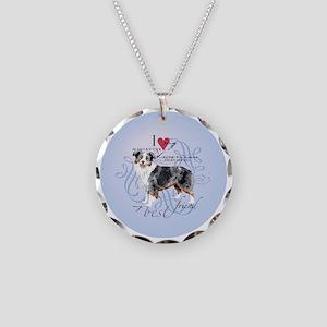 mini amer-round Necklace Circle Charm