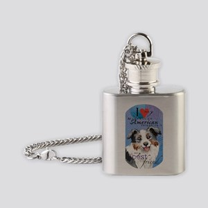 mini Amer T Flask Necklace