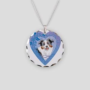 mini amer-charm Necklace Circle Charm